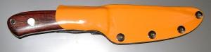 ножны, обтянутые оранжевым винилом